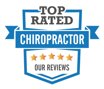 top rated chiropractor badge