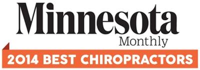 2014 minnesota monthly best chiropractor
