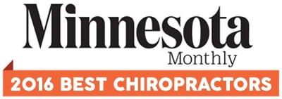 2016 minnesota monthly best chiropractor