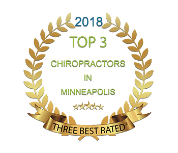 Top Rated Minneapolis Chiropractor Badge