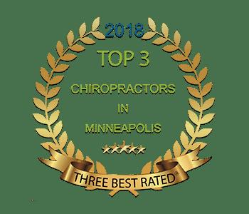 Top Rated Minneapolis Chiropractor Badge