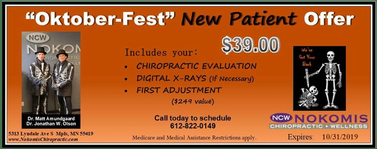 Oktober Fest New Patient Special Offer