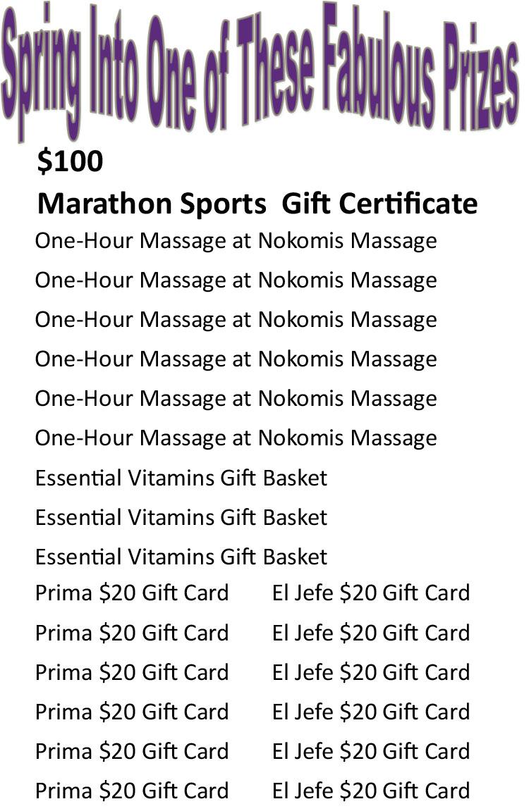Chiropractic Minneapolis MN Spring Prizes